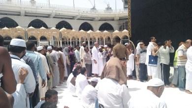 Photo of Usai Haji Masjidil Haram Lengang, Jamaah Bisa Antri Cium Hajar Aswad