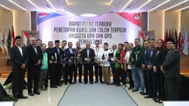 Photo of KPU Tetapkan Perolehan Kursi Parpol di DPR Hasil Pileg 2019