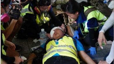 Photo of Liput Demonstrasi di Hong Kong, Wartawan Indonesia Tertembak Peluru Karet