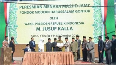 Photo of Kunjungi Pondok Modern Gontor, JK Minta Tingkatkan Ekonomi Syariah