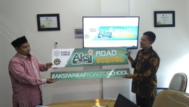Photo of Baitul Wakaf Luncurkan Program Aksi Wakaf Road to School