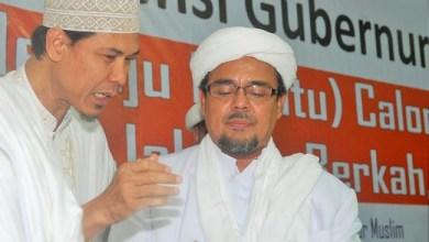 Photo of FPI: Pembakar Gambar Habib Rizieq Antek Rezim Anti Islam