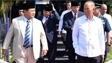 Photo of Suryo Prabowo dan Sjafrie Sjamsoeddin Bantu Prabowo di Kemhan