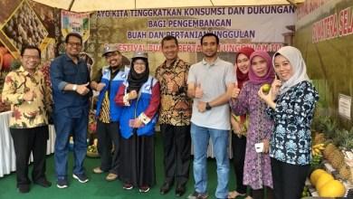 Photo of Ke Palembang, Pengurus ARM HA-IPB Hadiri Festival Buah dan Pertanian Unggulan  Sumsel