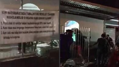 Photo of Polisi Tetapkan Lima Tersangka Kasus Perusakan Mushala di Minahasa
