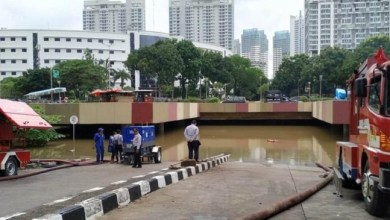 Photo of Underpass Kemayoran Terendam, Anies: Dikelola Setneg, tapi Pemprov DKI Ikut Bantu