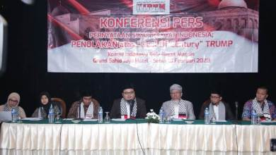 Photo of Koalisi Indonesia Bela Baitul Maqdis Tolak 'Deal of The Century'