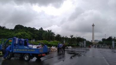 Photo of Sempat Tergenang, Jl Medan Merdeka Barat Lancar Kembali