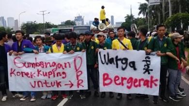 Photo of BEM SI Tolak RUU Ciptaker