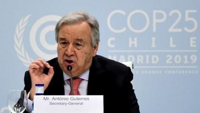 Photo of Sekjen PBB: Jangan Jadikan Corona Alasan Bertindak Represif
