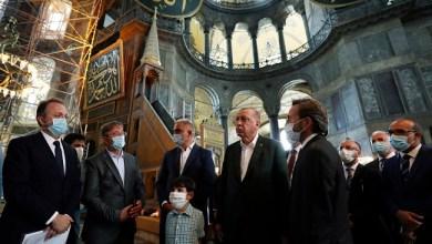 Photo of Erdogan Sidak ke Masjid Hagia Sophia