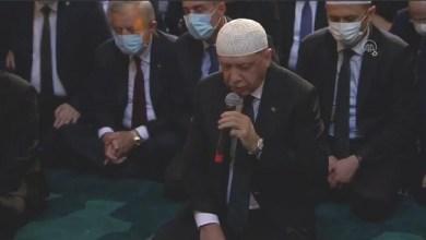 Photo of Fasih dan Merdu, Presiden Erdogan Bacakan Alfatihah dan Awal Albaqarah di Hagia Sophia