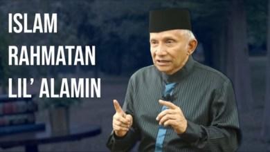 Photo of Amien Rais Buat Parpol Baru, Asasnya Islam Rahmatan lil Alamin