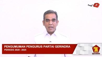 Photo of Pengurus Gerindra 2020-2025: Fadli Zon Bertahan, Arief Poyuono Terpental