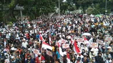 Photo of Demonstrasi ANAK NKRI Tolak UU Ciptaker Berlangsung Tertib