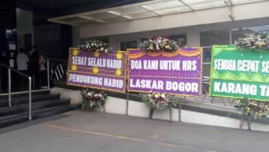 Photo of Karangan Bunga di RS Ummi, Doa dan Dukungan untuk Habib Rizieq