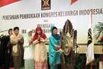Kongres Keluarga Indonesia Hasilkan Rekomendasi untuk Bangsa