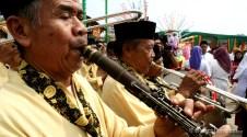 10092012 Peniup seruling pada orkes Tanjidor Betawi