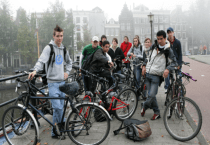 Jalur Sepeda di Amsterdam 03 - SuaraJakarta.com
