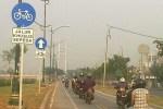 Jalur Sepeda Tanpa Sepeda, Kok Bisa?