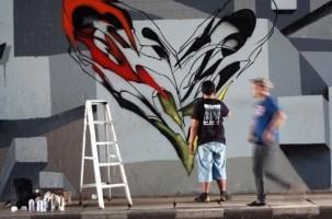 Aksi Mural Seniman Jakarta dan Berlin - SuaraJakarta.com (1)
