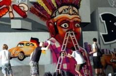 Aksi Mural Seniman Jakarta dan Berlin - SuaraJakarta.com (4)