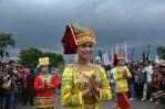 Gelaran kebudayaan dalam rangkaian acara Festival Kerajaan Nusantara di Silang Monas, Jakarta. (Foto: Fajrul Islam/SJ)