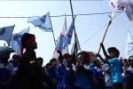 May Day – Buruh Tutup Akses Jalan Bandara Soekarno Hatta