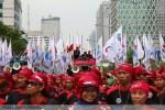 Perayaan Hari Buruh Internasional 2014 di Jakarta
