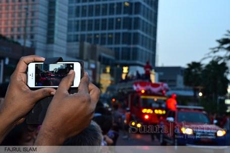 Arak-arakan Jakarta Karnaval 2014 di Bundaran Hotel Indonesia. (Foto: Fajrul Islam/SuaraJakarta)