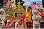 Parade Seni Budaya Kreatif 2014 meriahkan HUT RI ke-69