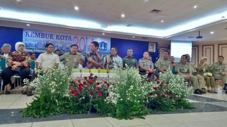 Dewan Kota Jakarta Pusat - Ardy Purnawan Sani diacara Rembug Kota Tanah Abang