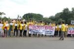 Mahasiswa UI Gantung koruptor di Hari Anti korupsi