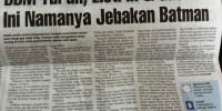 Headline Harian Nasional 6 Januari 2015