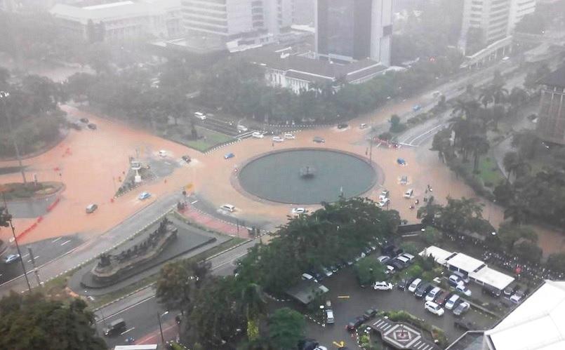 49 titik banjir di dki jakarta