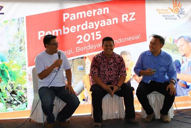 Pameran Pemberdayaan 2015, Ayo Berbagi, Berdayakan Indonesia