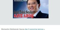 Tokoh Masyarakat Dukung Ahok Lewat Petisi Online