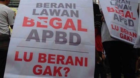 Solidaritas Mahasiswa Anti Korupsi Desak DPRD Lawan Begal APBD