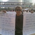 Pensiunan PNS DKI yang Protes Kebijakan Ahok. (Foto: SuaraJakarta.co)