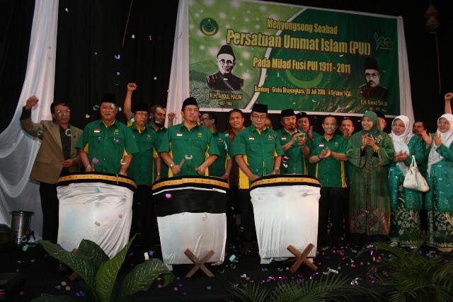 Milad PUI 1911-2011 di Bandung, Jawa Barat. (Foto: PUI)