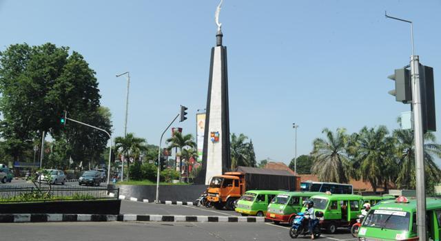Tugu Kujang, Kota Bogor. (Foto: Bogor.net)