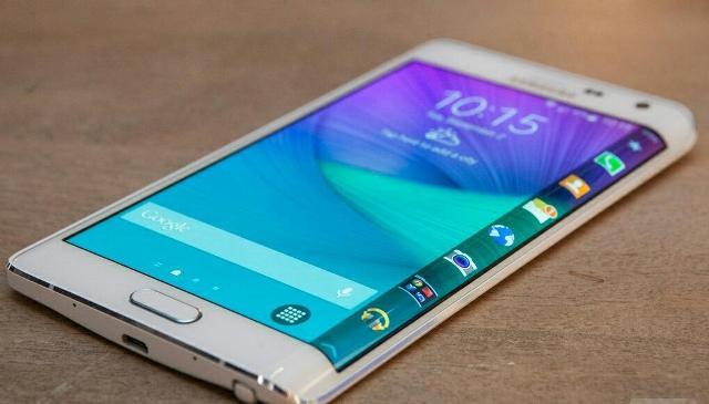 Samsung Galaxy Note Edge. (Foto: androidstandard.com)