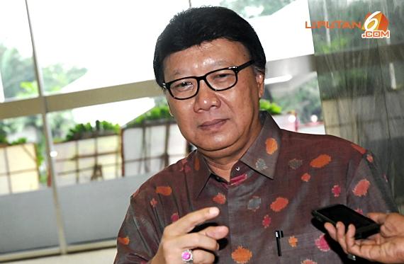 Menteri Dalam Negeri, Tjahjo Kumolo. (Foto: Liputan6)