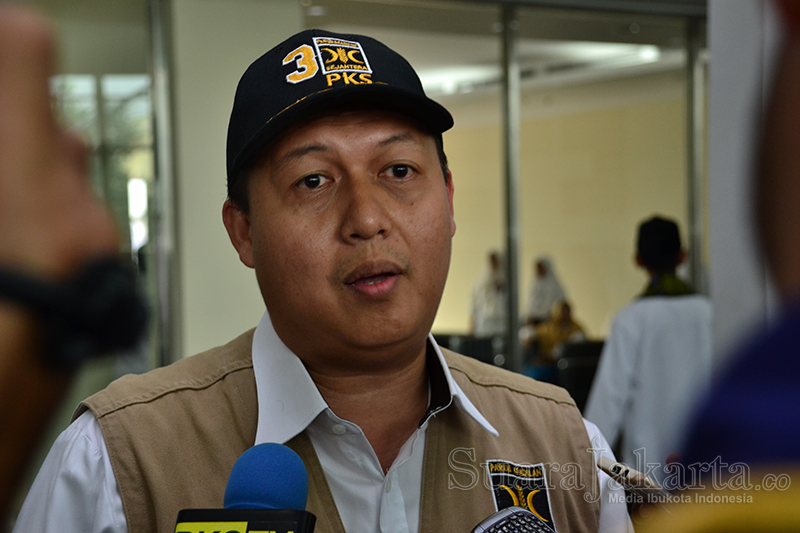 Ketua Fraksi PKS DPRD DKI Jakarta, Selamat Nurdin. (Foto: Fajrul Islam/SuaraJakarta)