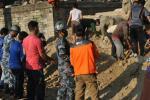 Relawan RZ Distribusikan Bantuan di Desa Terpencil Distrik Dahding, Nepal