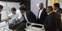 Pimpinan Fraksi PKS DPR RI Jenguk Korban Bom Sarinah, Fahri Hamzah Ngikut