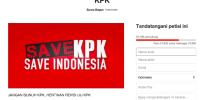 BW Ajak Publik Dukung Petisi Tolak Revisi UU KPK