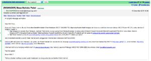 Notifikasi email untuk renewal