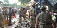 Sudah Tidak Ada Pemberitahuan, Puluhan Satpol PP Asal Bongkar Lapak di Kebon Melati