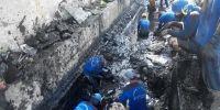 Dinas Tata Air Jakarta Pusat Kerahkan Personil Bersihkan Saluran PHB